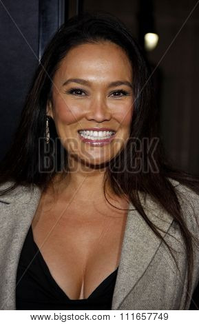 Tia Carrere at the Los Angeles Premiere of