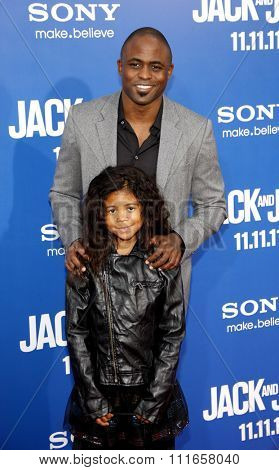 HOLLYWOOD, CALIFORNIA - November 6, 2011. Wayne Brady at the World Premiere of