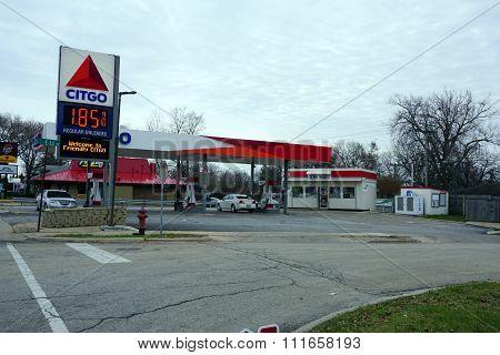Citgo Gasoline Station