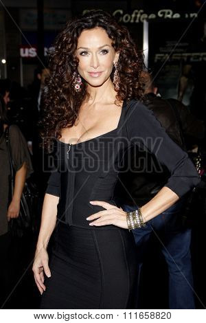 HOLLYWOOD, CALIFORNIA - November 22, 2010. Sofia Milos at the Los Angeles premiere of