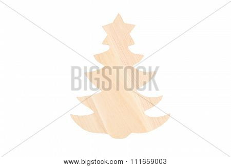 Christmas Wooden Fir Tree