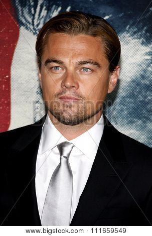 Leonardo DiCaprio at the AFI Fest 2011 Opening Night Gala World Premiere Of