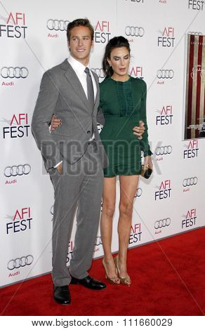 Armie Hammer at the AFI Fest 2011 Opening Night Gala World Premiere Of