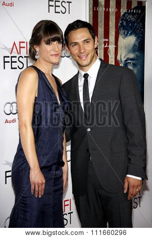Michael Rady and Rachael Kemery at the AFI Fest 2011 Opening Night Gala World Premiere Of