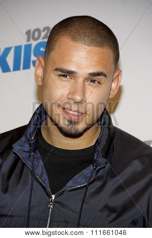 Afrojack at the KIIS FM's 2012 Jingle Ball held at the Nokia Theatre L.A. Live in Los Angeles, USA on December 3, 2012.