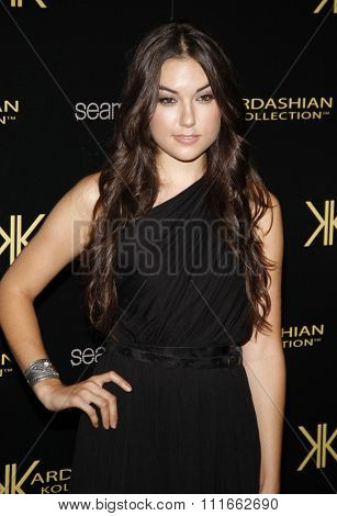 Sasha Grey at the Kardashian Kollection Launch Party held at the Colony in Los Angeles, California, United States on August 17, 2011.