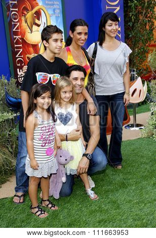 HOLLYWOOD, CALIFORNIA - August 27, 2011. Gilles Marini at the World premiere of