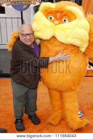 Danny DeVito at the Los Angeles Premiere of