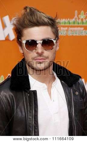 HOLLYWOOD, CALIFORNIA - February 19, 2012. Zac Efron at the Los Angeles premiere of
