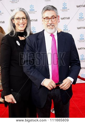John Landis at the 2012 TCM Classic Film Festival Opening Night Gala held at the Grauman's Chinese Theater, California, United States on April 12, 2012.