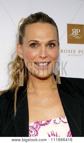 Molly Sims at the Rosie Pope Maternity Store Opening held at the Rosie Pope Maternity, California, United States on March 29, 2012.