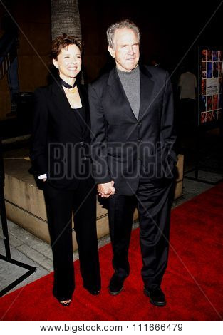 Annette Bening and Warren Beatty at the Los Angeles Premiere of