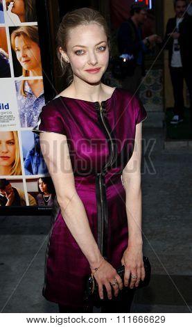 HOLLYWOOD, CALIFORNIA - April 19, 2010. Amanda Seyfried at the Los Angeles premiere of