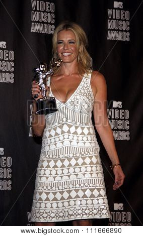 Chelsea Handler at the 2010 MTV Video Music Awards held at the Nokia Theatre L.A. Live in Los Angeles, USA on September 12, 2010.