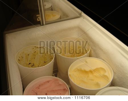 Buckets Of Ice Cream