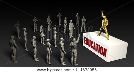Education Fight For and Championing a Cause