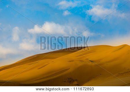 Desert Sunrise Landscape