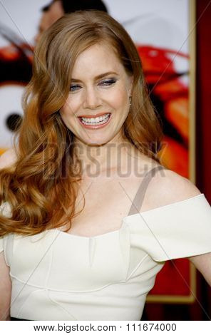 Amy Adams at the World Premiere of