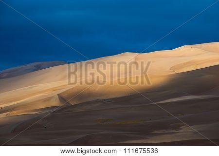 Desert Sunrise Background