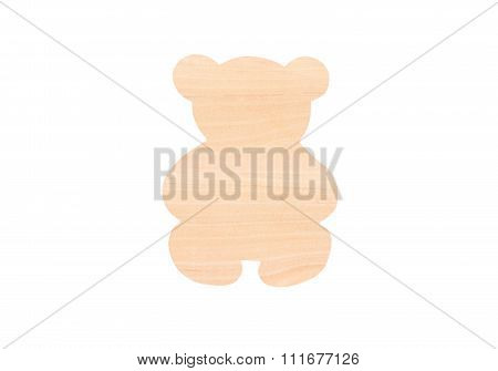 Christmas Wooden Bear Toy