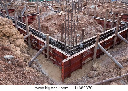 Concrete Beam Mold For House Construction