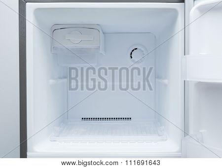 Empty Refrigerator Freezer