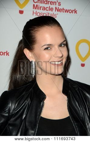 LOS ANGELES - DEC 12:  Britt Flatmo at the Childrens Miracle Network Winter Wonderland Ball, at the Avalon Hollywood on December 12, 2015 in Los Angeles, CA