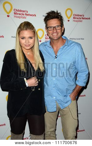 LOS ANGELES - DEC 12:  Alli Simpson, Brad Simpson at the Childrens Miracle Network Winter Wonderland Ball, at the Avalon Hollywood on December 12, 2015 in Los Angeles, CA