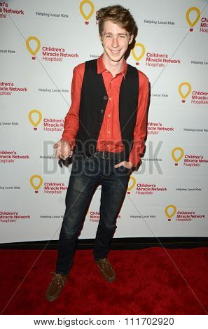 LOS ANGELES - DEC 12:  Joey Luthman at the Childrens Miracle Network Winter Wonderland Ball, at the Avalon Hollywood on December 12, 2015 in Los Angeles, CA