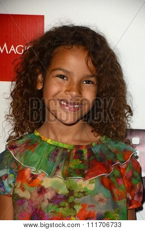 LOS ANGELES - DEC 10:  Kaya Rose Davis at the A Christmas Star Premiere at the TCL Chinese 6 Theaters on December 10, 2015 in Los Angeles, CA