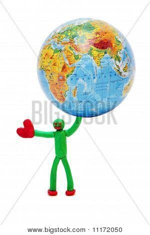 Person will rescue the planet