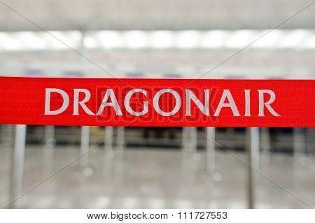 HONG KONG - NOVEMBER 03, 2015: check-in area in Hong Kong Airport. Hong Kong International Airport is the main airport in Hong Kong. It is located on the island of Chek Lap Kok