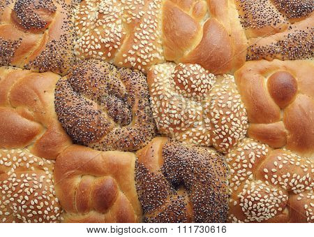 Fresh Bread Rolls ,Close Up