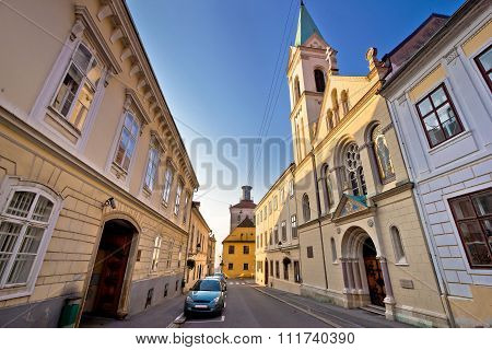 Historic Zagreb Upper Town Street