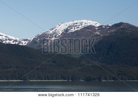 Mountains in the Inside Passage