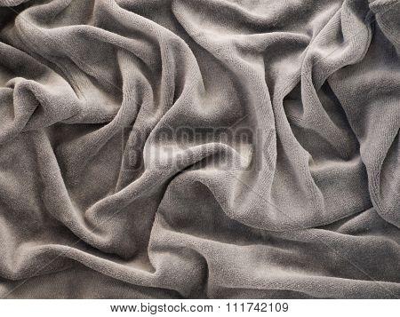 Gray Velour Background