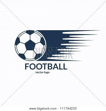 Football or soccer ball symbol