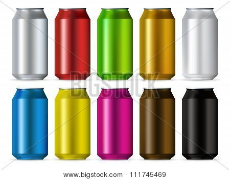 Aluminum realistic cans color set isolated on white background. Aluminum cans set. Aluminum cans set art. Aluminum cans set web. Aluminum cans set new. Aluminum cans set www. Aluminum cans set app
