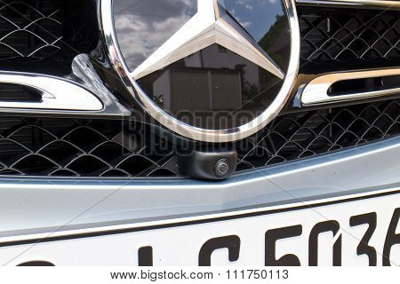 Mercedes-benz All New Glc Suv 2015 Front Camera