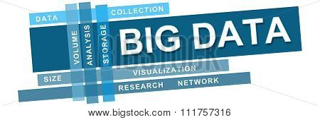 Big Data Blue Stripes Keywords