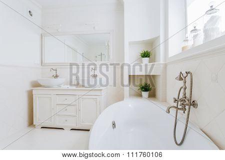 Bathroom Full Of Sun Light