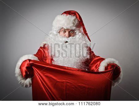 Santa Claus And Sack