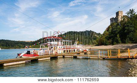 Niedzica, Poland - Touris Boat