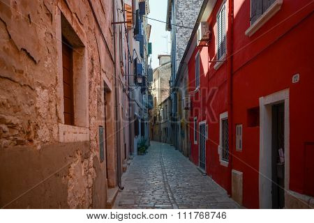 Old Town In Rovinj Croatia
