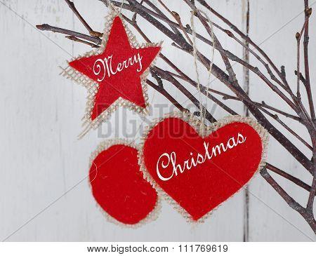 Rustic Christmas Decorations