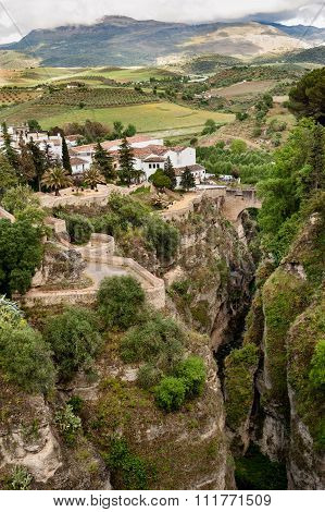 View of the El Tajo near Ronda