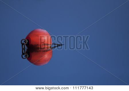 buoy in clear water