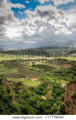View Of The El Tajo