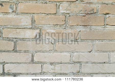 Beige Brick Background