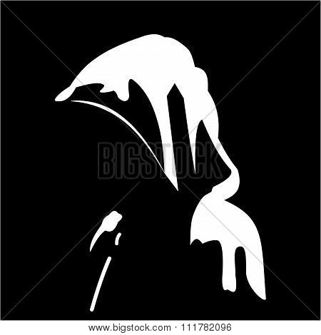 Silhouette Of Anonymous
